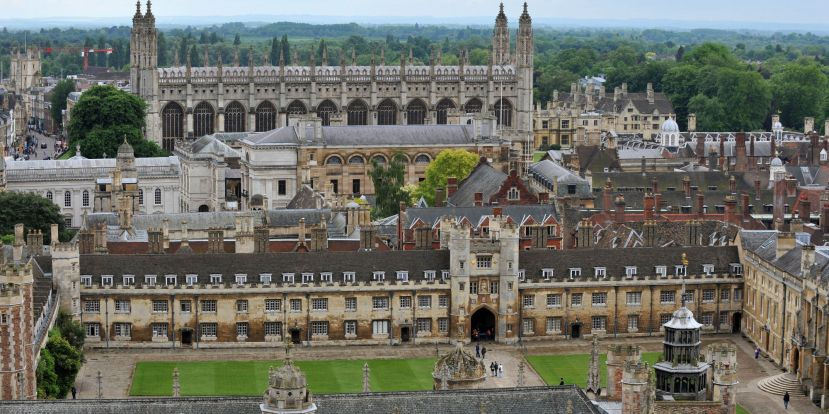 Cambridge University applications