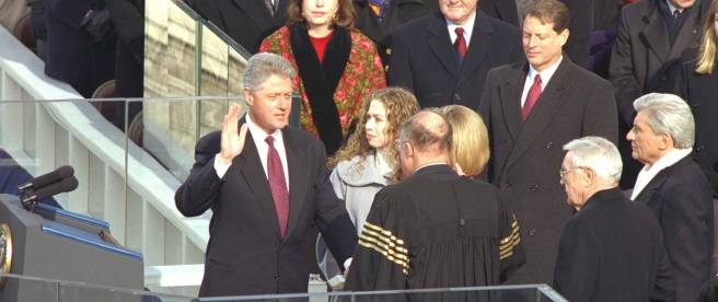 1997_Clinton_Inauguration_-_Swearing-in_Ceremony