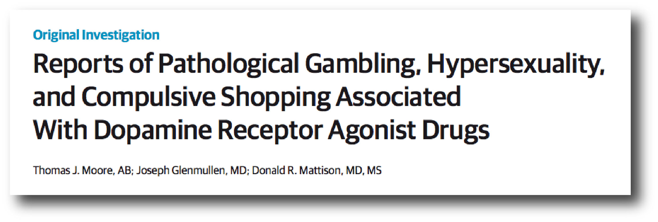 a study on pathological gambling as an addiction Distorted thinking in gambling addiction: highlight the overlap between pathological gambling and drug addiction a new study found that gambling in any.